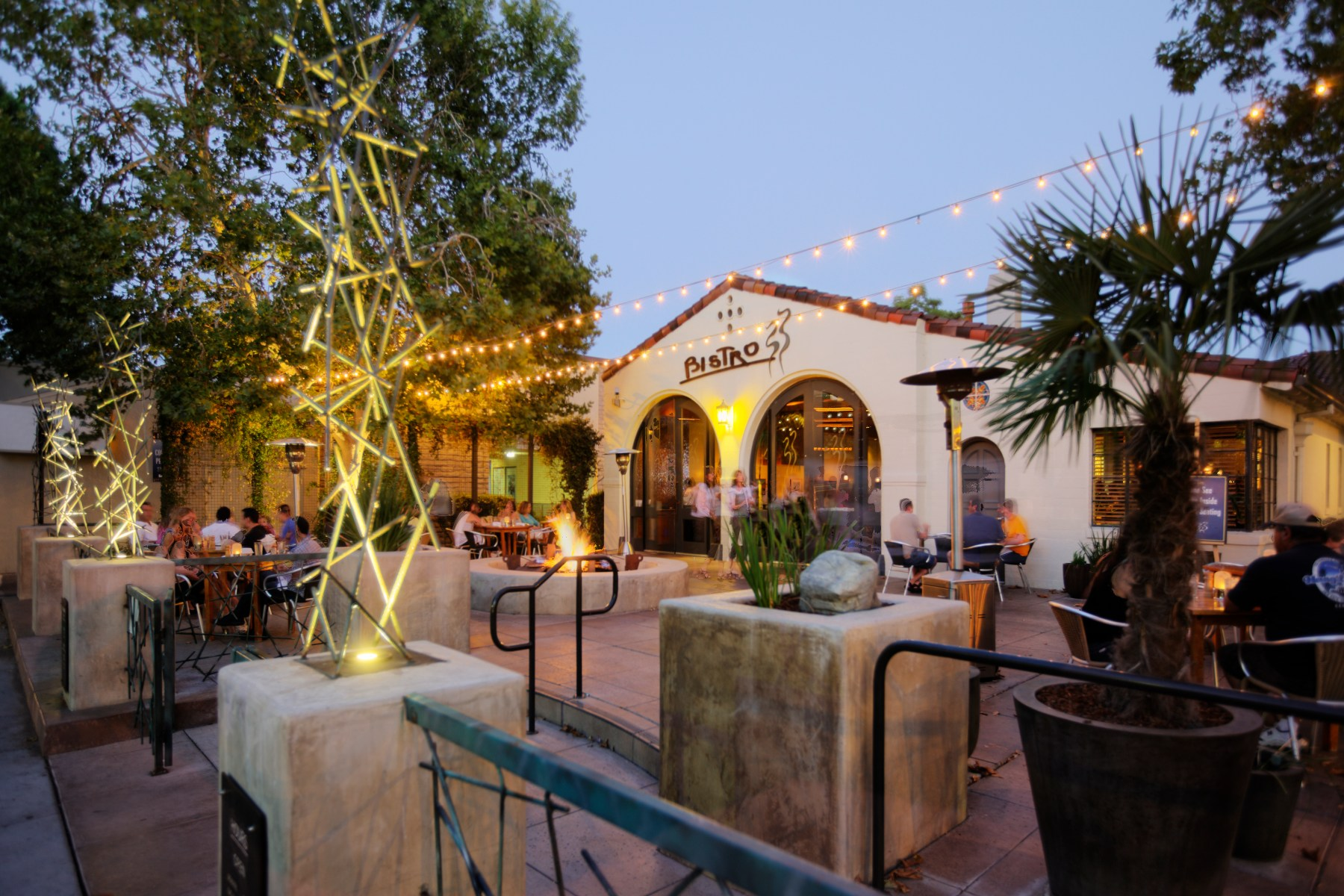 Photo of Bistro 33 in Davis, Ca, by YHLA