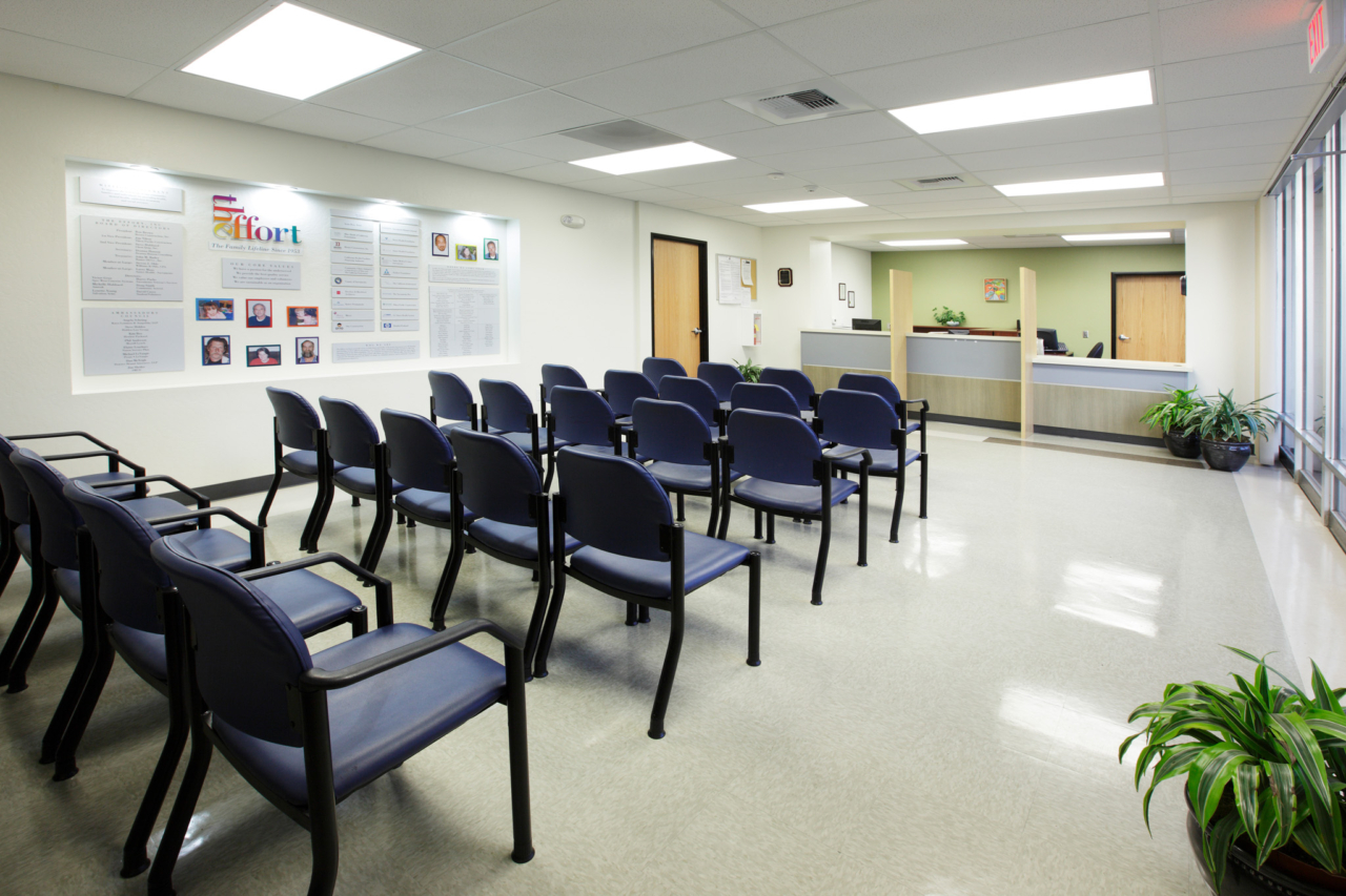 Photo of Clinic Waiting Room at The Effort in Sacramento