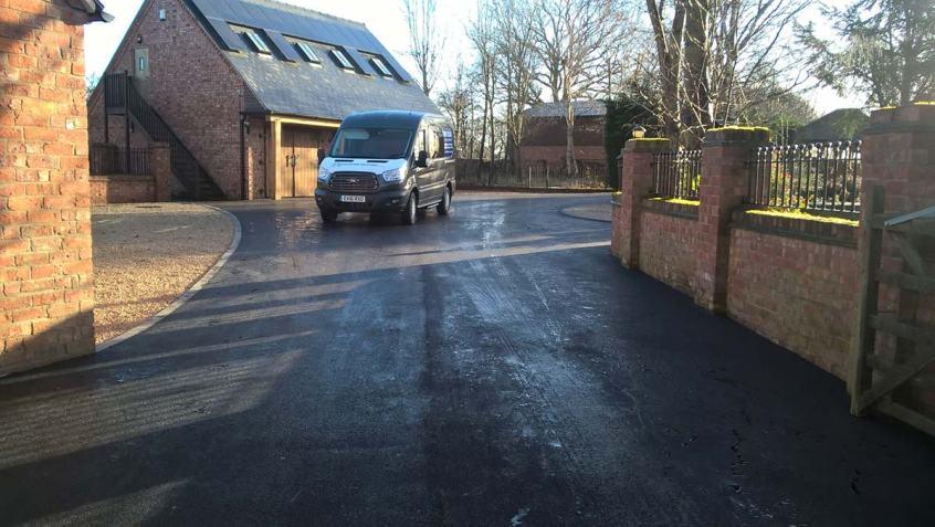 Roadways driveways shropshire kerbing drainage patios parking commercial tarmacking asphalt domestic driveways driveway roadway roads main road speed bumps road markings
