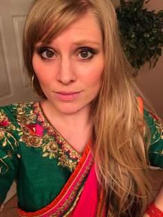 me in sari