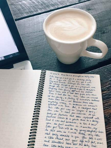 coffee and journal