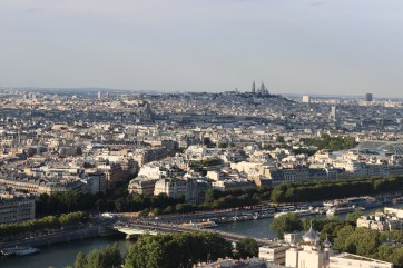 Montmartre in the distance