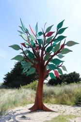 Peace Tree sculpture