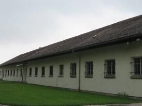 A rebuilt barrack.