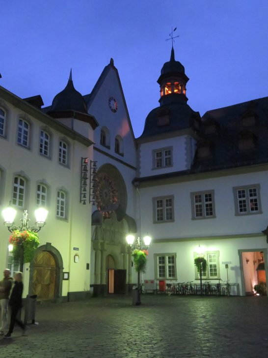 Jesuitenplatz in Old Town Koblenz