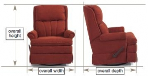 right arm sleeper sofa lexington sofas rv furniture measurement guide | dave & lj's ...