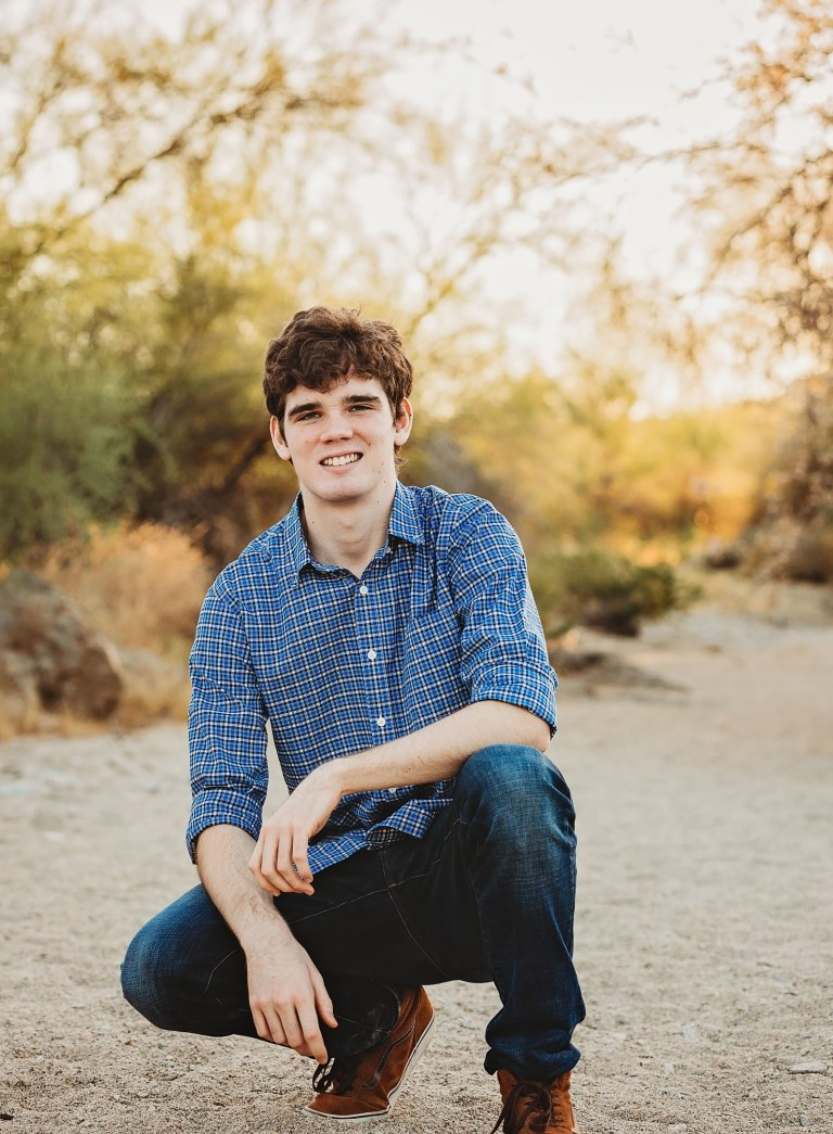 Mountain Pointe Senior Photos