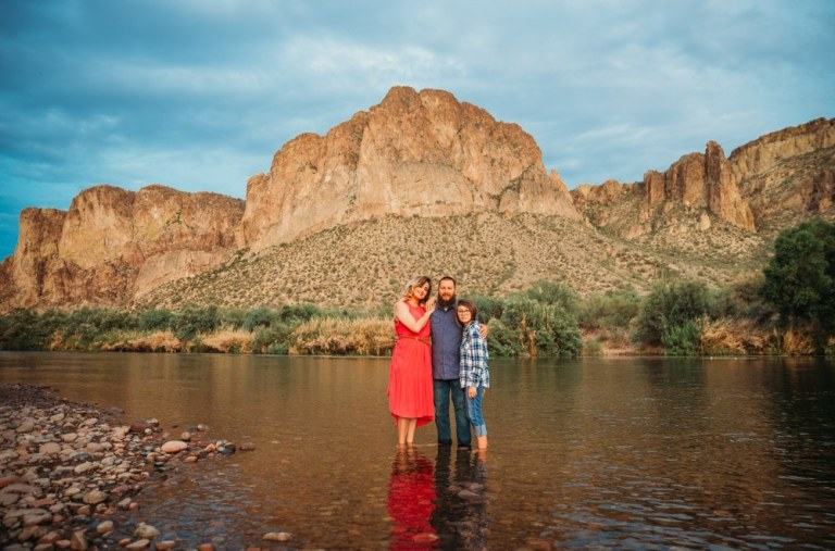 Family Photos At the Salt River