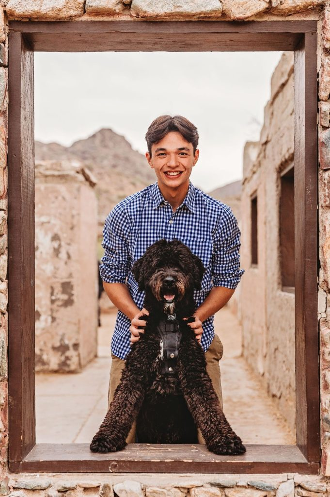 Male Senior Portraits in Phoenix, AZ