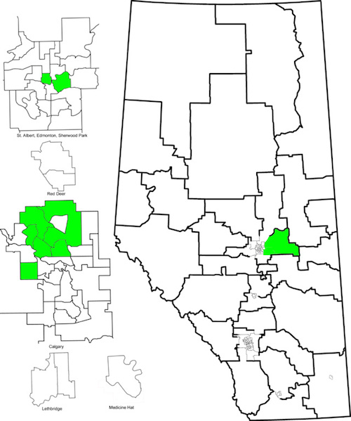Alberta Pre-Election 2015: Monday candidate nomination