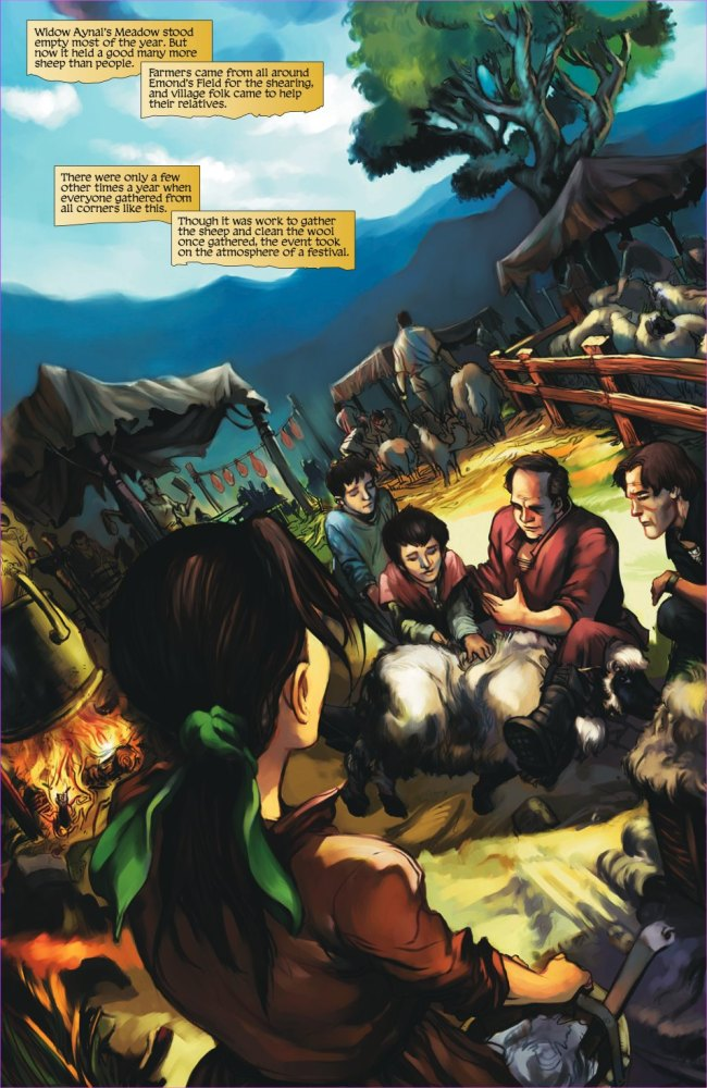 The Wheel of Time: Graphic Novel Preview - Dragonmount (4/6)
