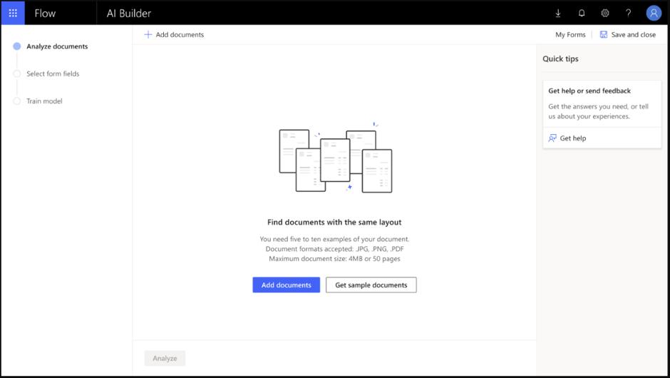 AI Builder flows