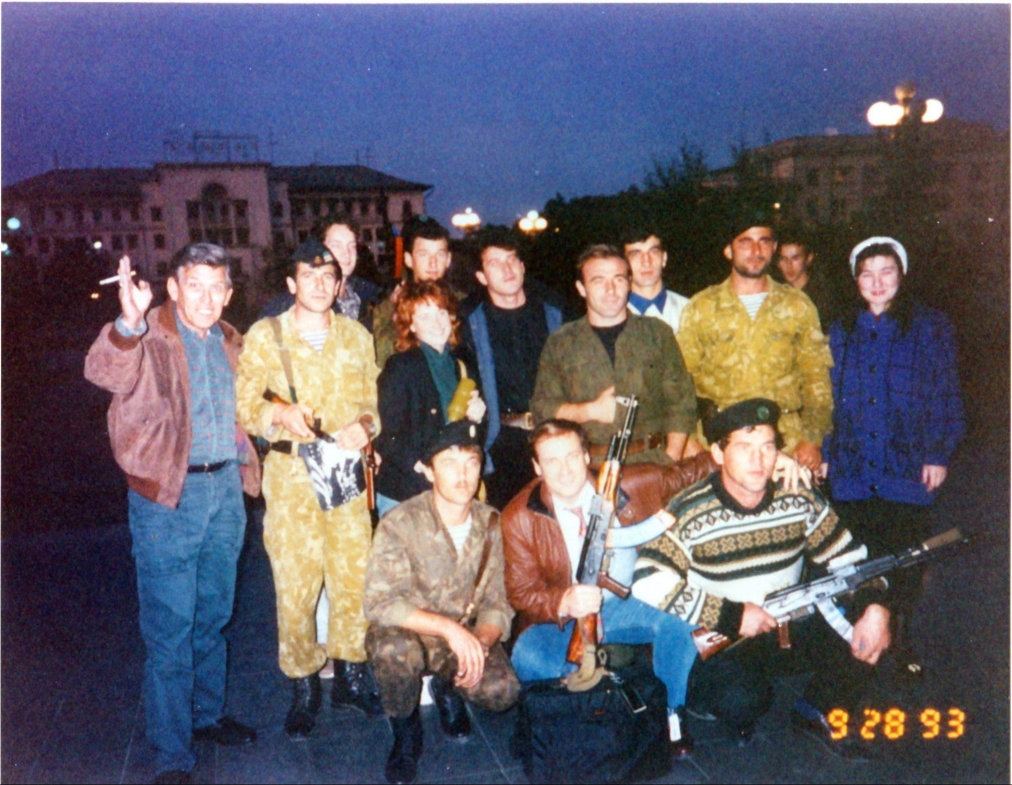 Gorilla Fighters in Grosny - Chechnya