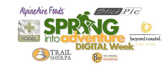 Spring in to Adventure Digital Week Logos