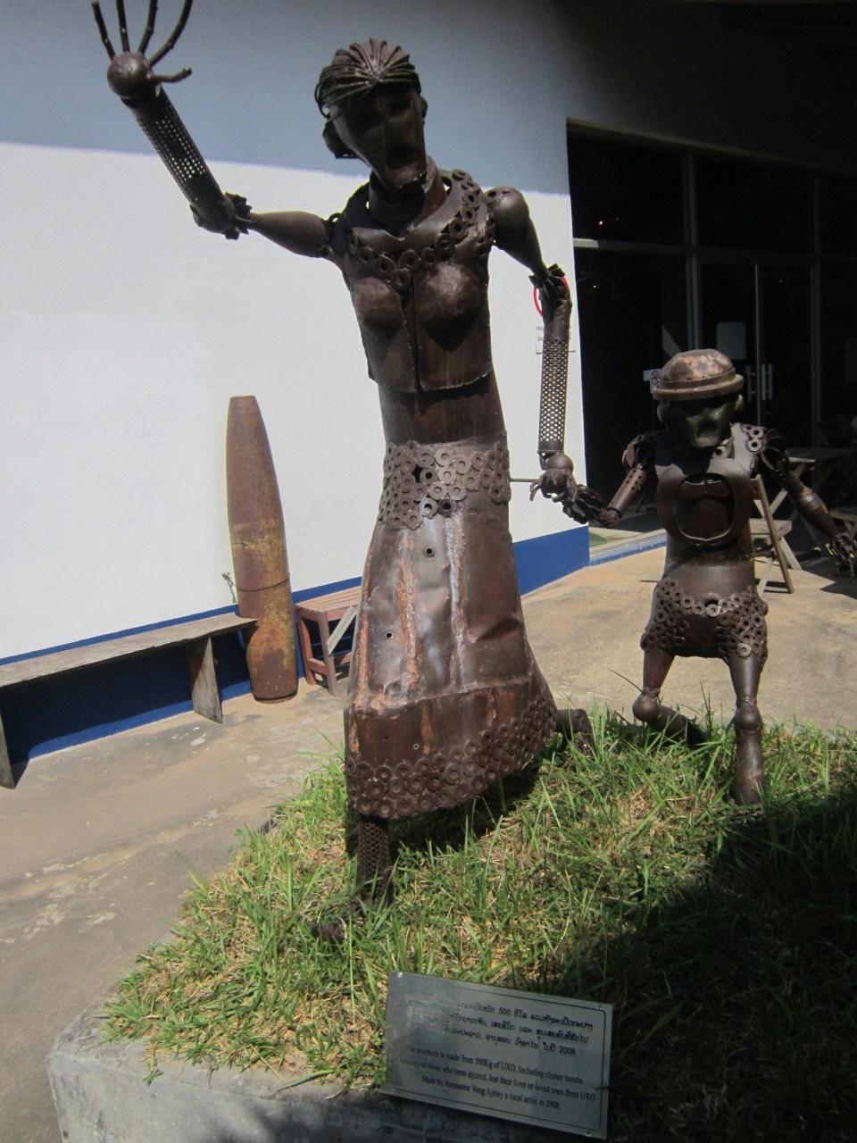 COPE visitor centre in Laos