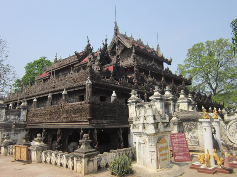 Things to do in Mandalay Shwenandaw Monastery