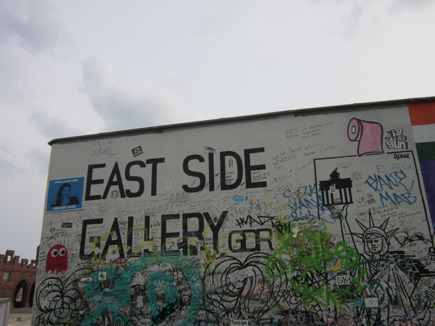 The Berlin Wall – East Side Gallery