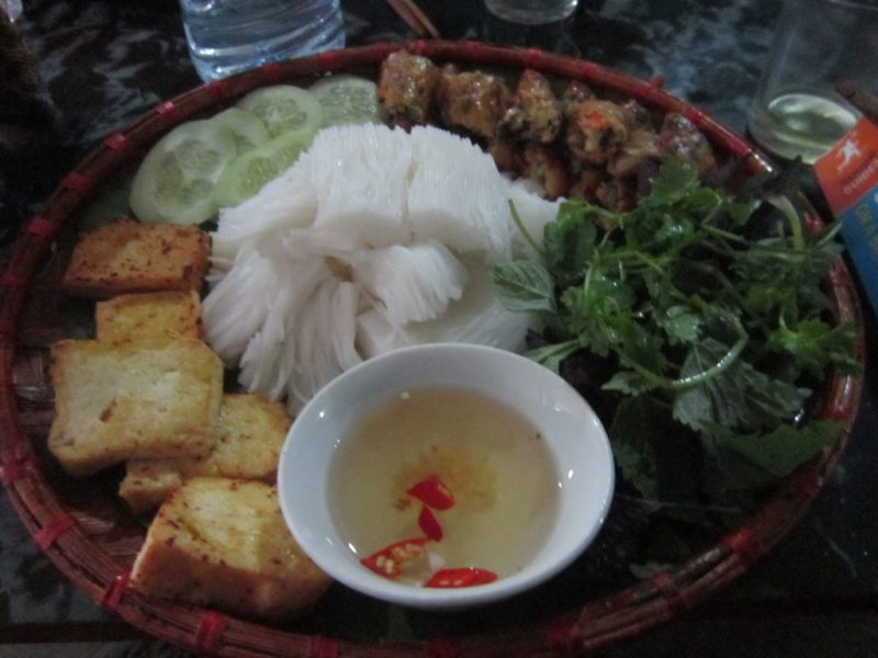 Chay Food in Vietnam. Food for a Vegetarian In Southeast Asia