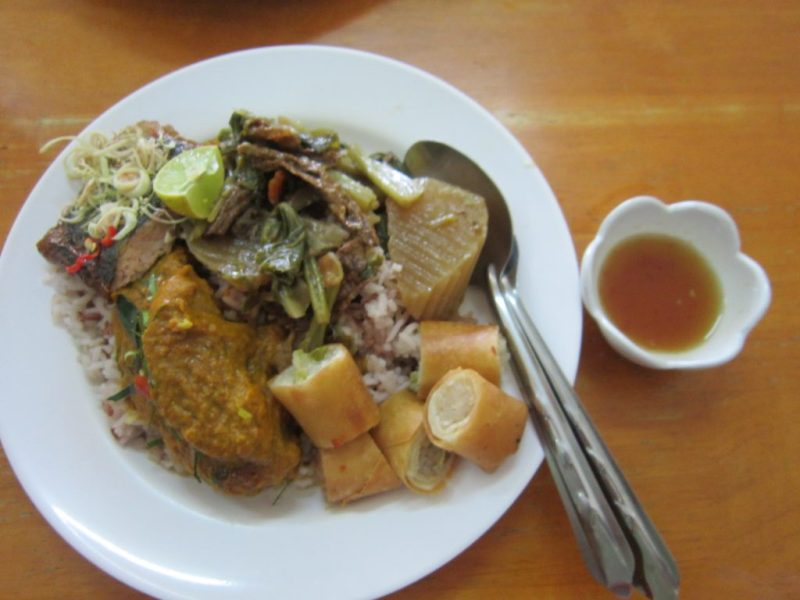 Jay Food in Thailand (Vegetarian food in Thailand)