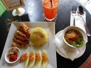 Vegetarian Restaurant food in Melaka