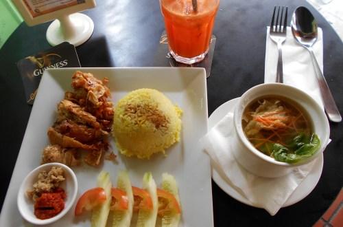 Vegetarian Restaurant food in Melaka