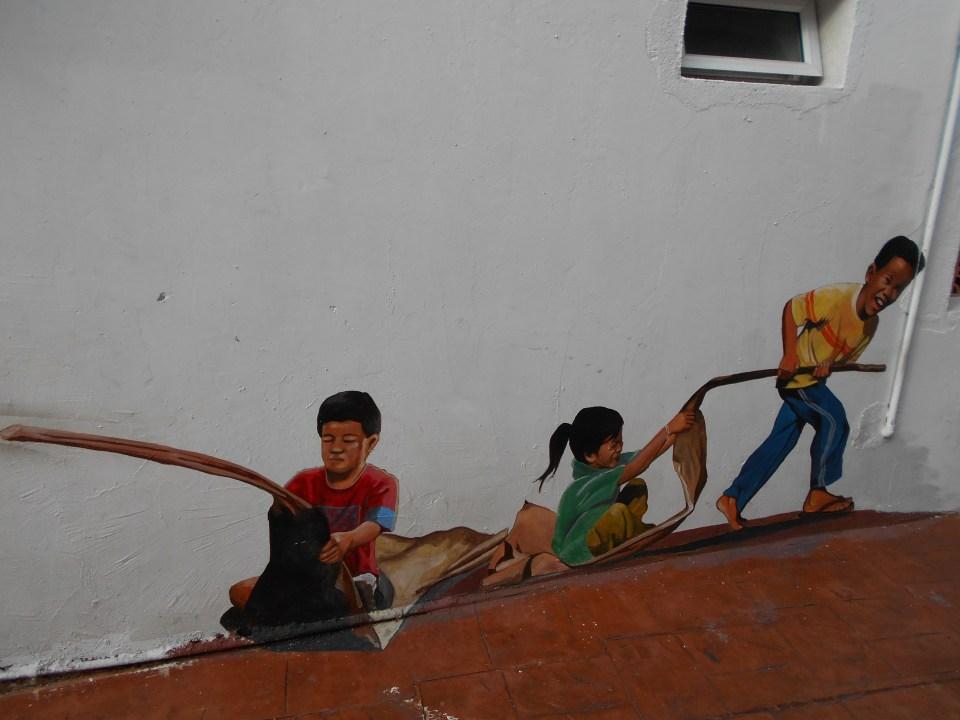 Melaka Street Art Kids
