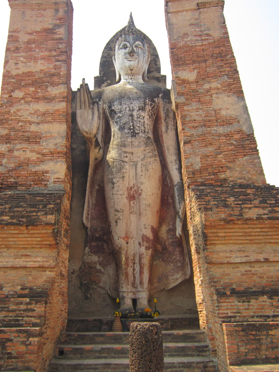 Tall statue in Sukhothai Historical Park