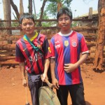 The people of Myanmar - Men in a Karenni village near Loikaw