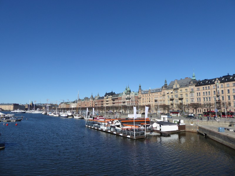 Water and buildings in Stockholm