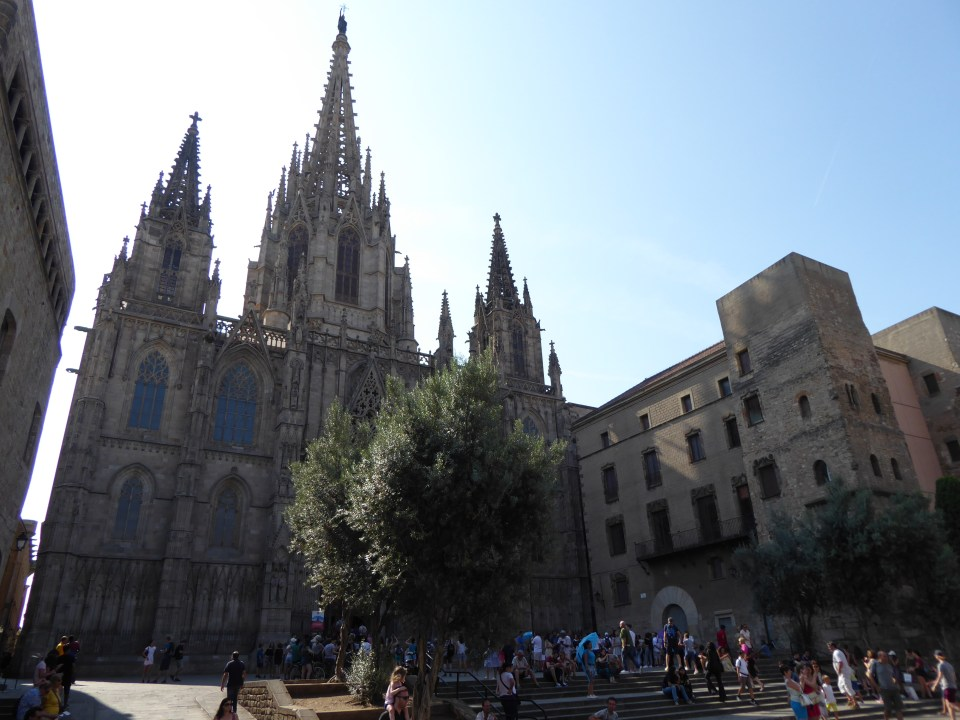 Things to do in Barcelona - view of the Barcelona Cathedral