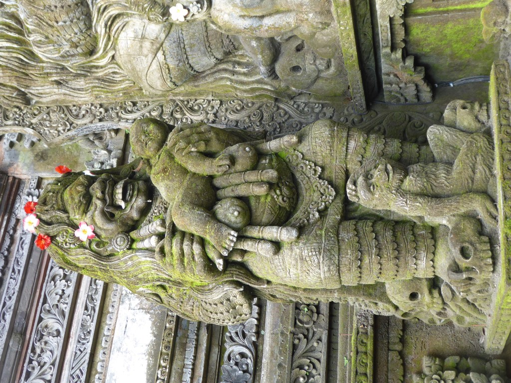 Statue of the Demon Queen in Pura Dalem. Visited whilst backpacking Ubud