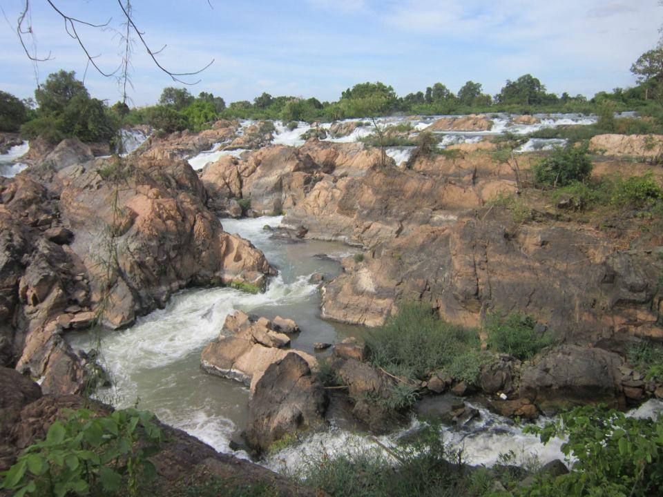 Somphamit Waterfalls - 4000 Islands - Laos Itinerary