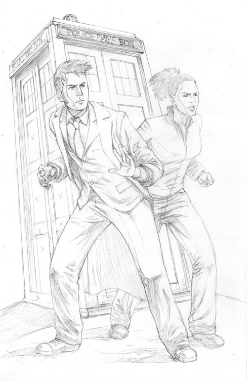 Dr who colouring pictures