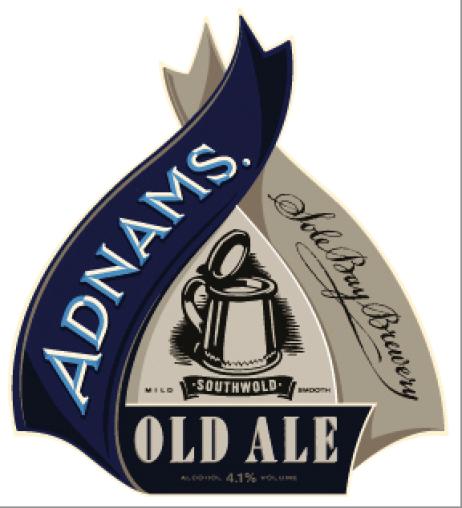 Adnams 'Old Ale' Pump Clip