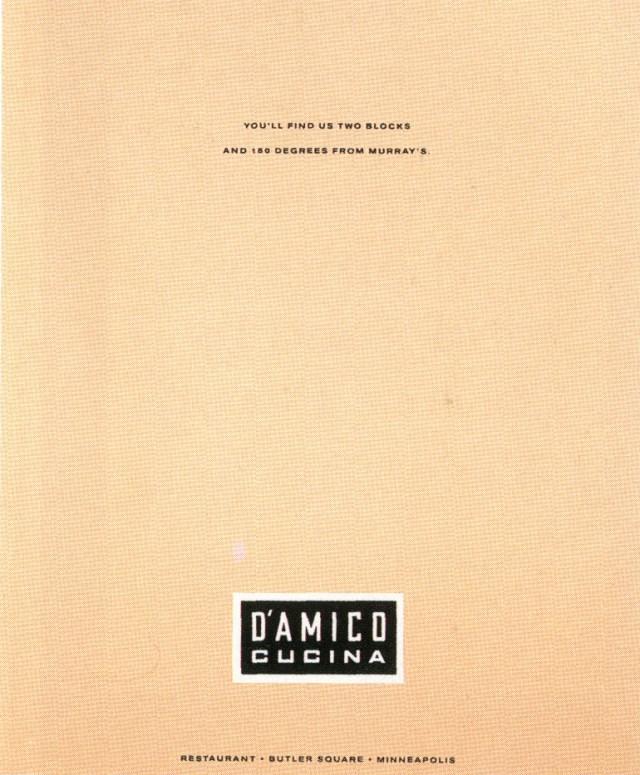 Fallon McElligott, D'AMICA 3-01