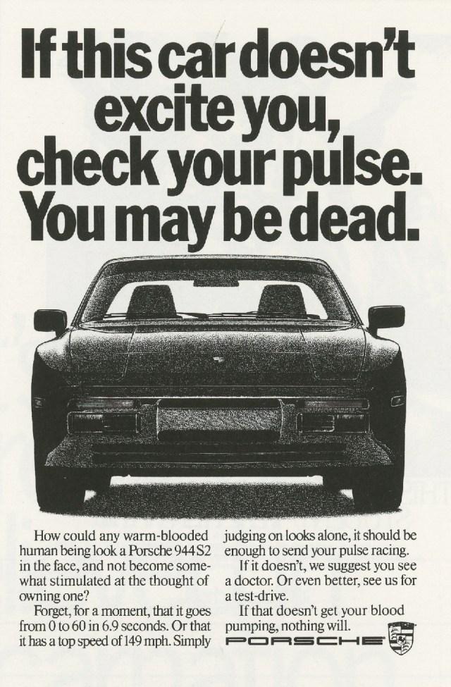 Fallon McElligott, Porsche 'Dead'-01