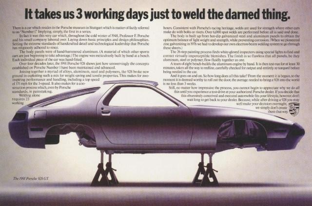 Fallon McElligott, Porsche 'Weld'-01