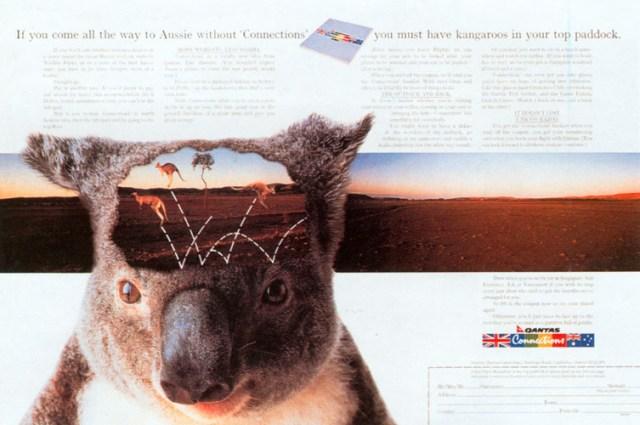 John Knight, Qantas 'Connections'
