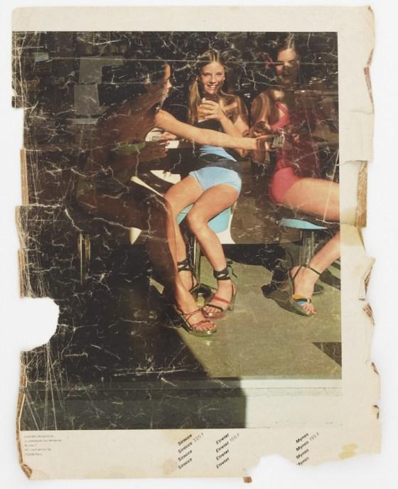 'Girls In Shade' Charles Jourdan, Guy Bourdain,