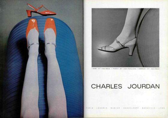 'Balance' Charles Jourdan, Guy Bourdain, 1967