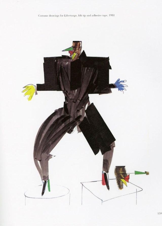Libertango costume designs 1981