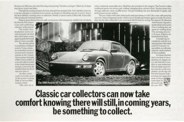Fallon McElligott, Porsche Collect'-01
