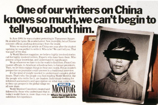 Pat Burnham, Monitor 'China'-01