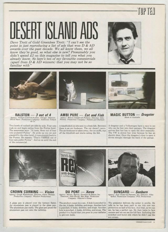 Dave Trott's Desrt Island Ads a-01