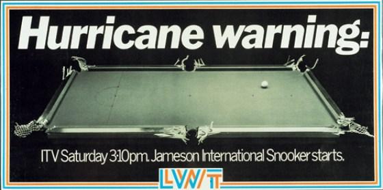 LWT 7 'Hurricane Higgins-snooker