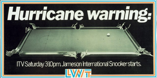 LWT 7 'Hurricane Higgins-snooker