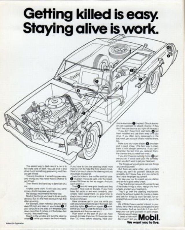 Mobil 'Staying Alive' Len Sirowitz, Bob Levenson, DDB