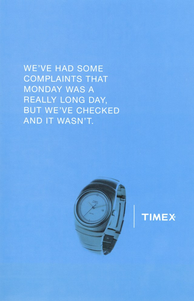 Andy McLeod, Timex 'We've checked', Fallon-01