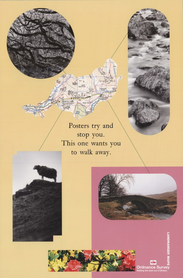 Ordnance Survey, 'Walk away', Leagas Delaney