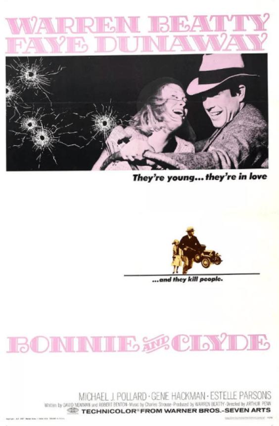Steve Franfurt - 'Bonnie & Clyde' Poster
